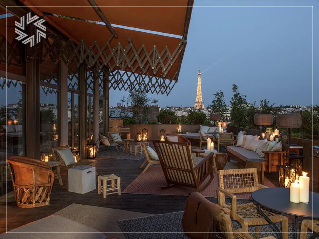 Rooftop privatisable à Paris